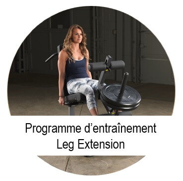 programme musculation leg extension