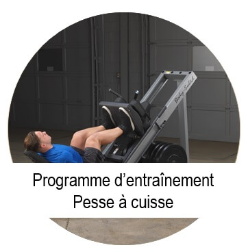 programme musculation presse a cuisse