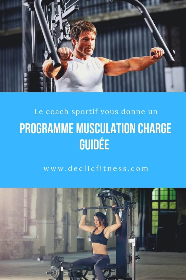 Programme Complet Musculation Avec Charge Guidee