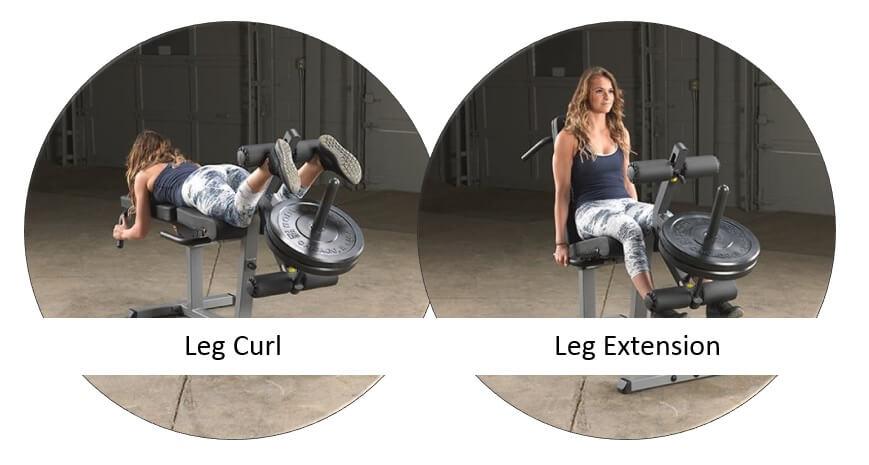 pourquoi choisir un leg curl ou leg extension