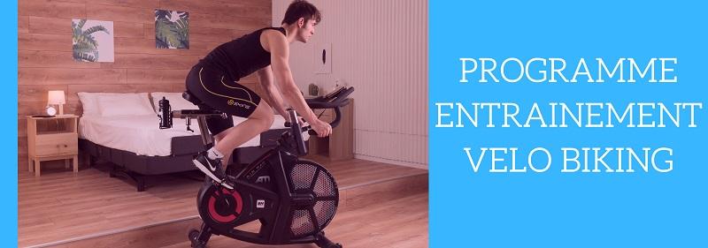 programme entrainement velo biking
