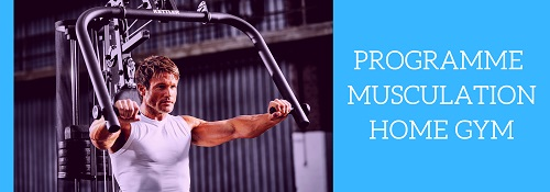 programme musculation home gym
