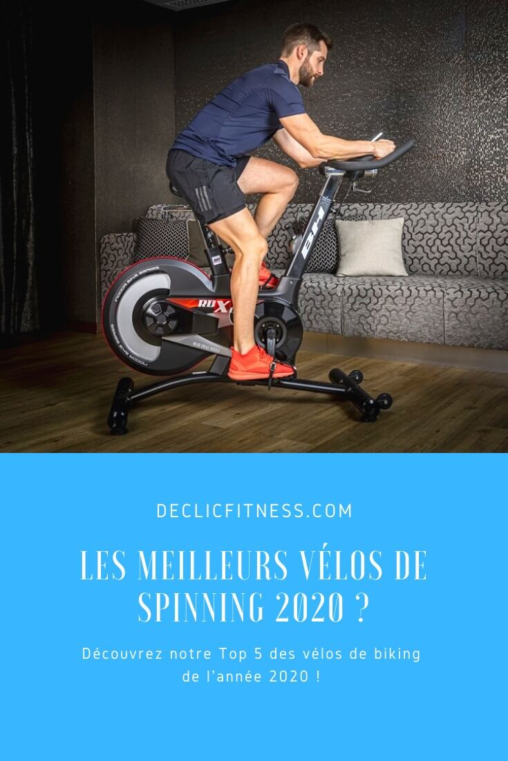 meilleur velo spinning
