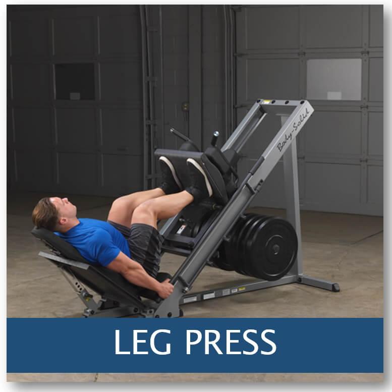 leg press / presse a cuisse