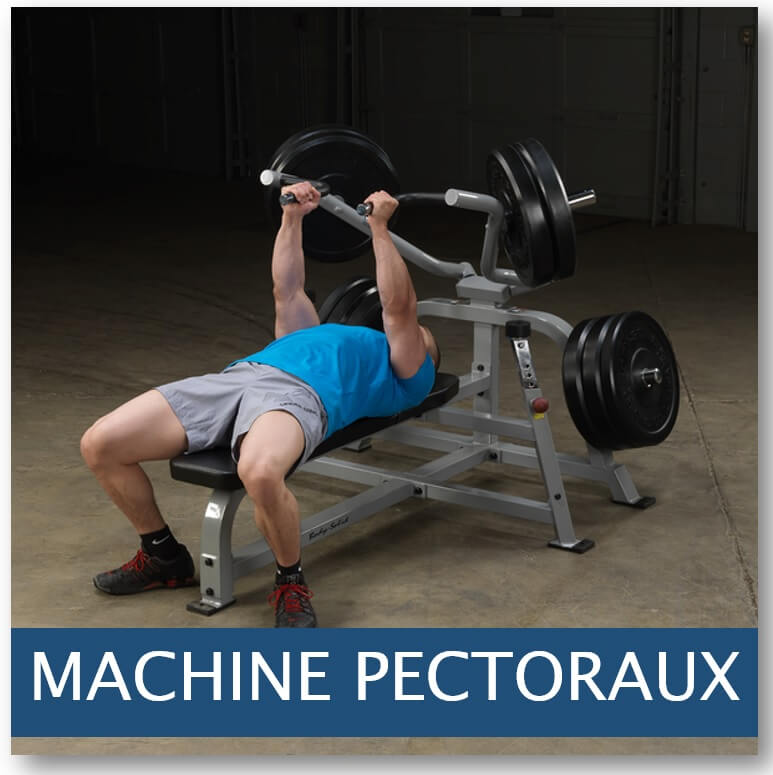 machine pectoraux