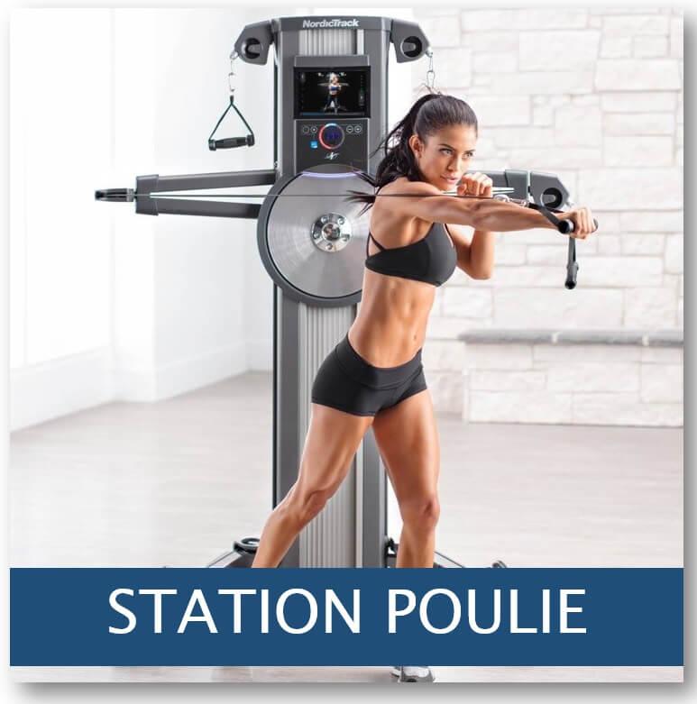 station poulie