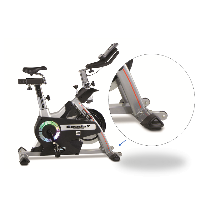 Vélo de Biking BH Ergomètre I.Spada 2 Bluetooth