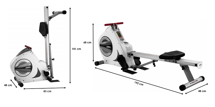Rameur BH Fitness  Vario Program R350