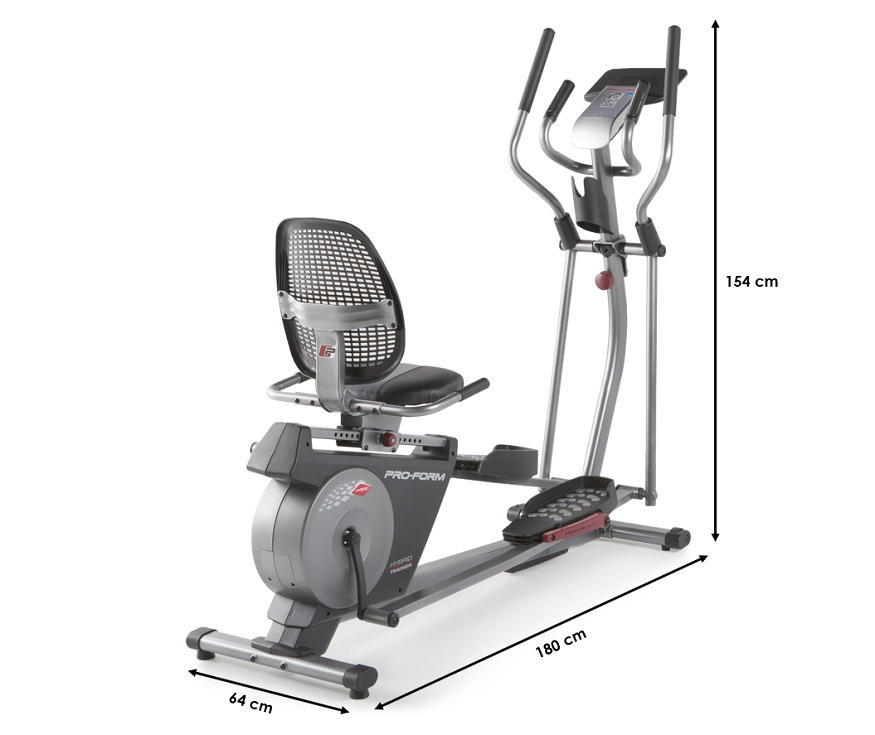 Velo elliptique assis Hybrid Trainer