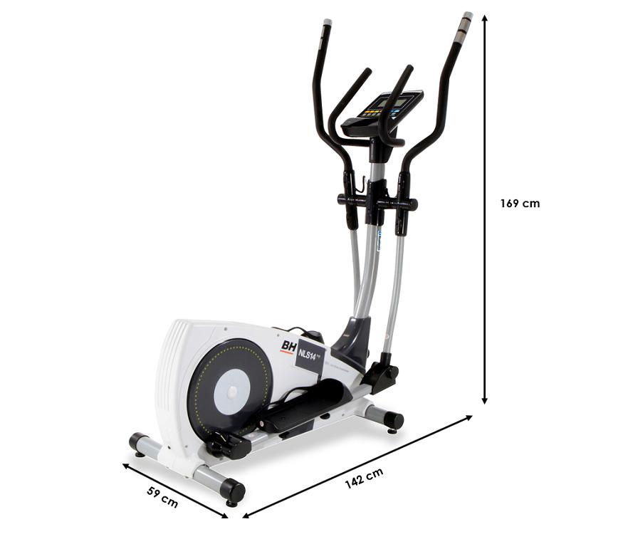 Velo elliptique BH Ergomètre i.NLS14 Top Dual