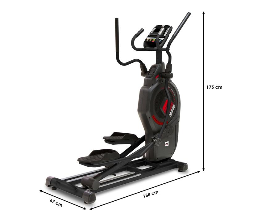 Vélo elliptique BH CDR Studio