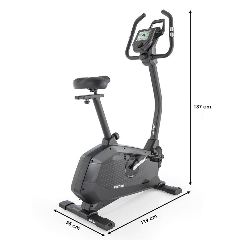 Vélo d'appartement Kettler New Giro S3 Bluetooth