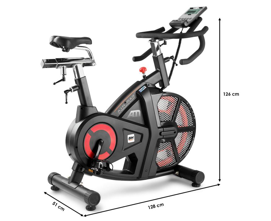 Vélo biking BH Ergomètre i AIRMAG semi professionnel