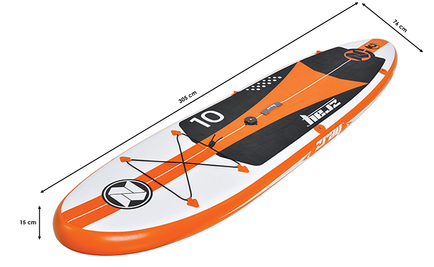 Stand up paddle gonflable Zray W1 - Windsurf 10' + voile