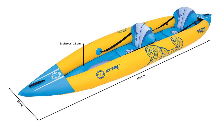 Kayak gonflable Zray Tahiti