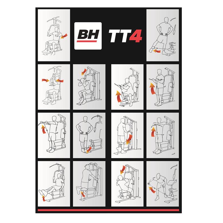 Appareil de musculation BH TT 4