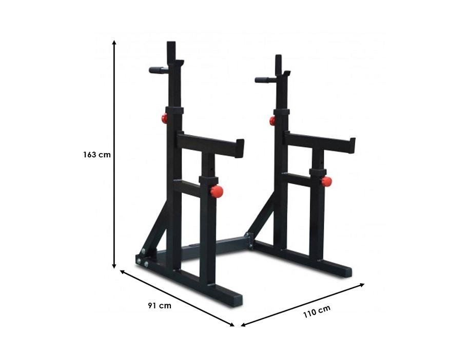 DKN Squat Rack Dip Stand