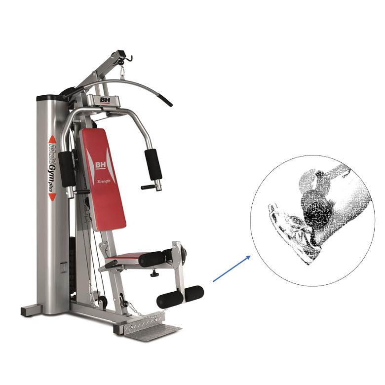 Appareil de musculation BH Multigym Plus G112X