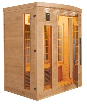 Sauna infrarouge Apollon 3 Places