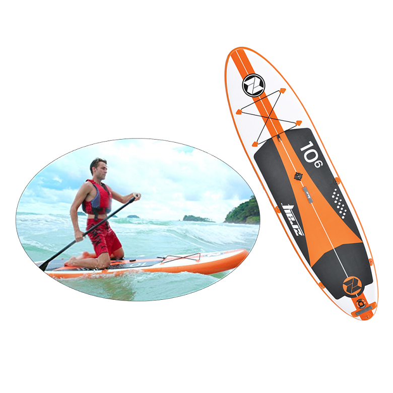 Stand up paddle gonflable Zray W2 - Windsurf 10'6 + voile
