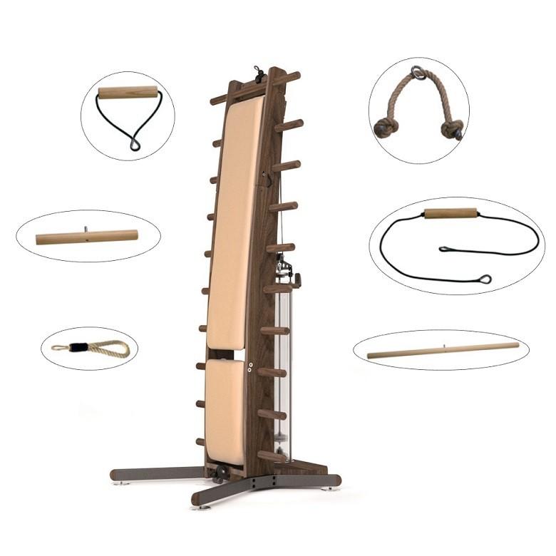 Appareil musculation complet WeightWorkx NoHrD Noyer
