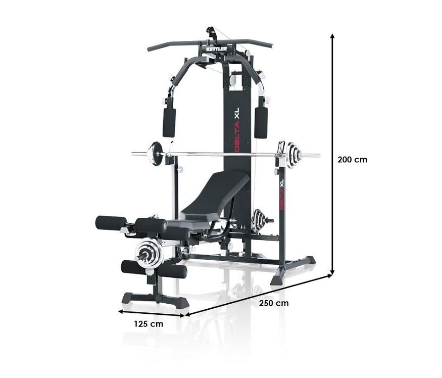 Banc de musculation Kettler Delta XL