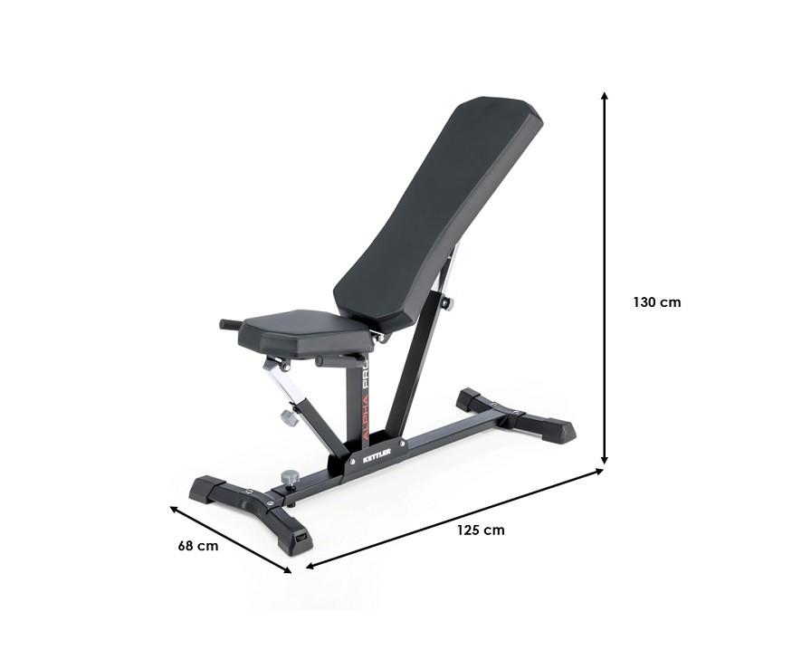 Banc de musculation Kettler Alpha Pro