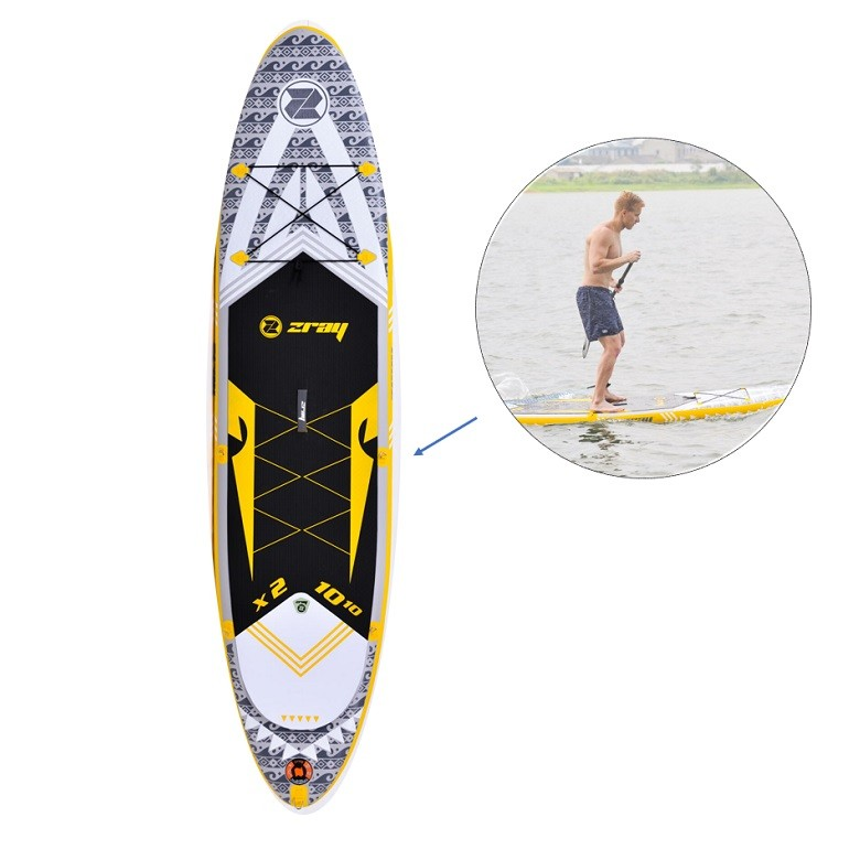 """Stand Up Paddle Gonflable Zray X2 - X Rider 10'10"""""""