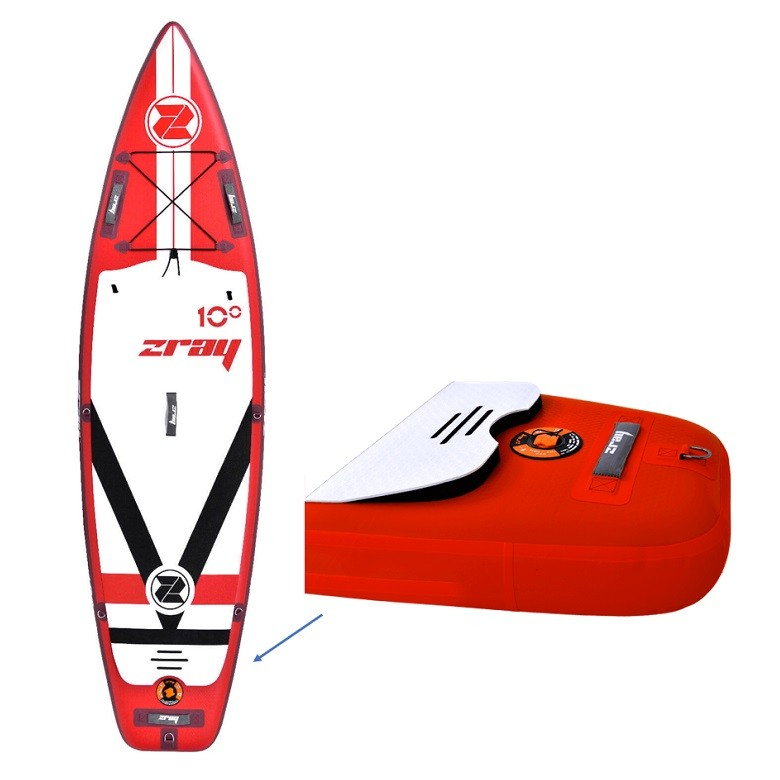 Stand Up Paddle Gonflable Zray F1 - Fury 10'