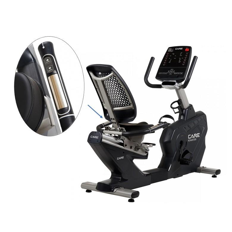 Velo assis Care Ergomètre Roadster EMS Generateur