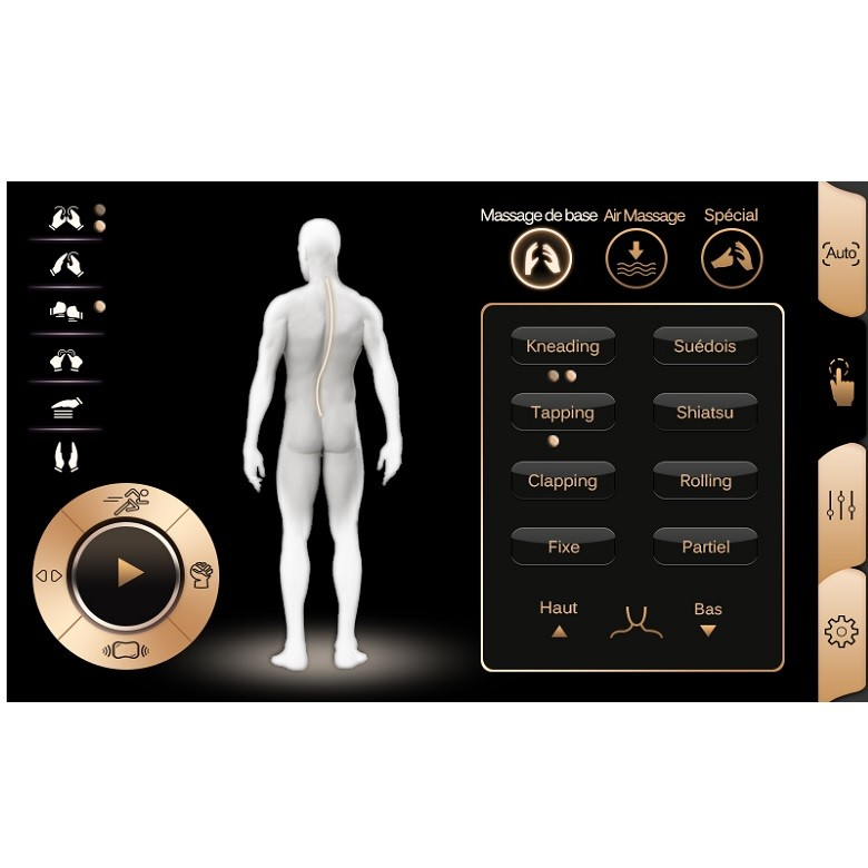 Fauteuil de massage Harmony EP-V6