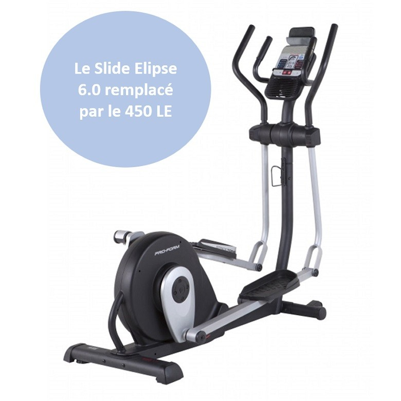 Vélo elliptique Proform Slide Elipse 6.0