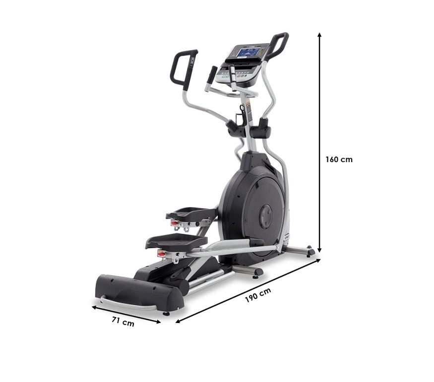 Velo elliptique Spirit Fitness XE395