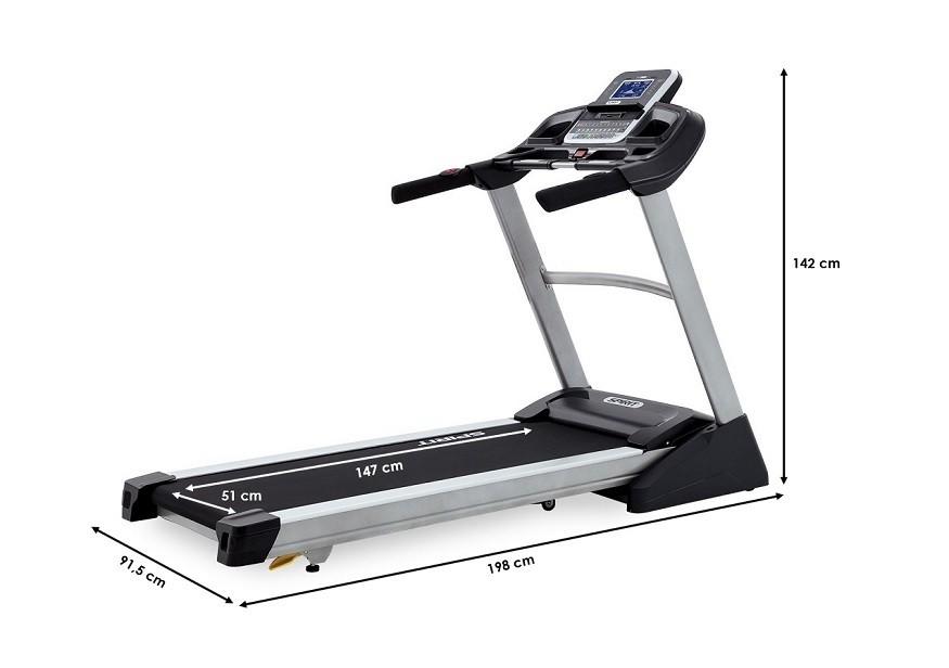 Tapis de course Spirit Fitness XT385