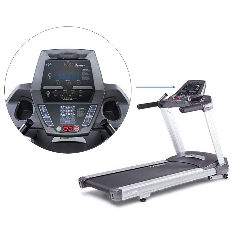 Tapis de course Spirit Fitness CT800