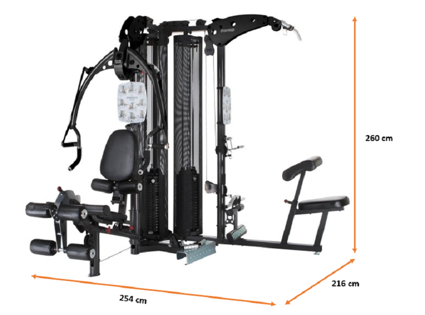 Home Gym Multi Finnlo INSPIRE M5