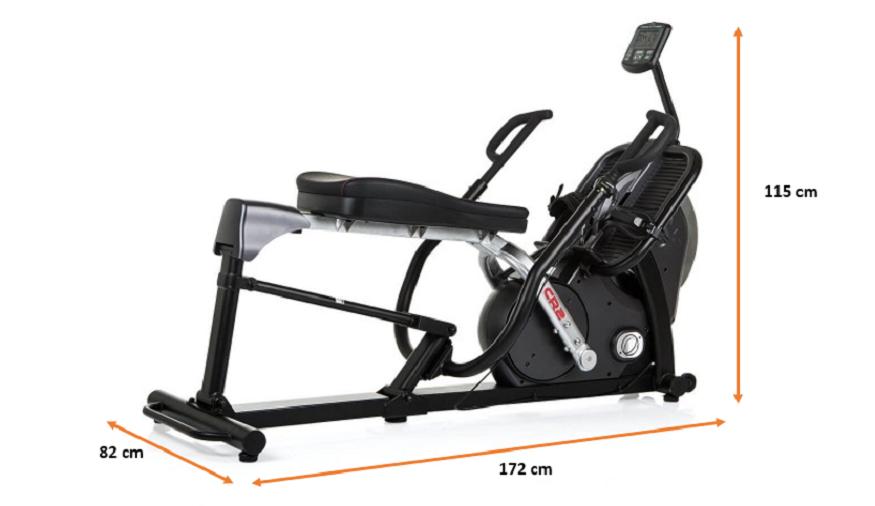 Rameur Finnlo Cross Rower CR2.1X