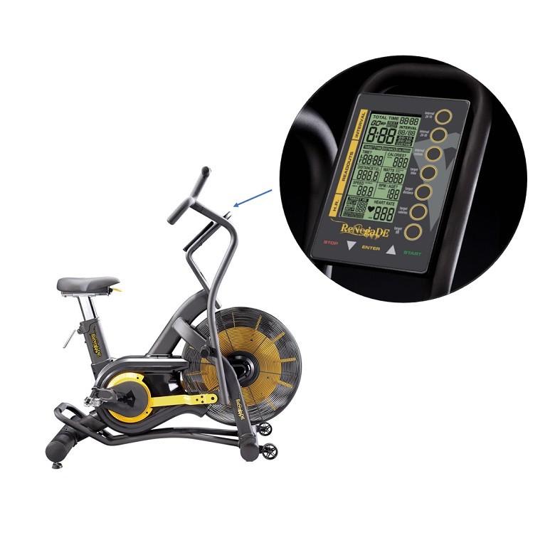 Vélo d'appartement Evocardio Air Bike AB100