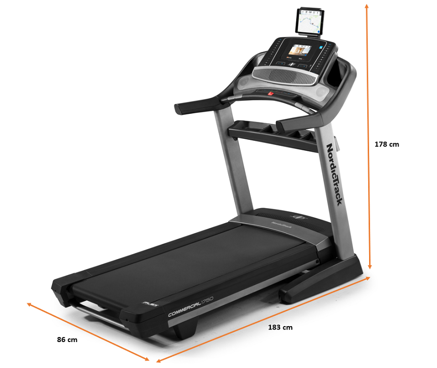 Tapis de Course Nordictrack NEW Commercial 1750