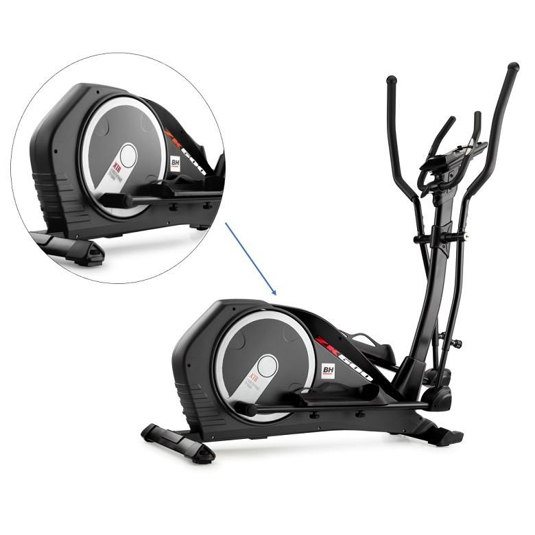 Velo elliptique BH Fitness Ergomètre ZK500