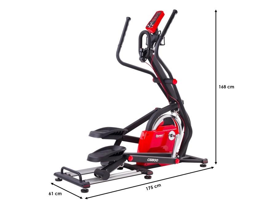 Velo elliptique Spirit Fitness E-Glide CG800
