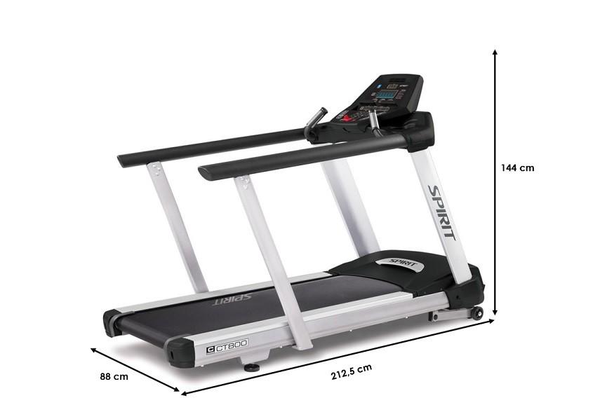 Tapis de marche Spirit Fitness CTM800