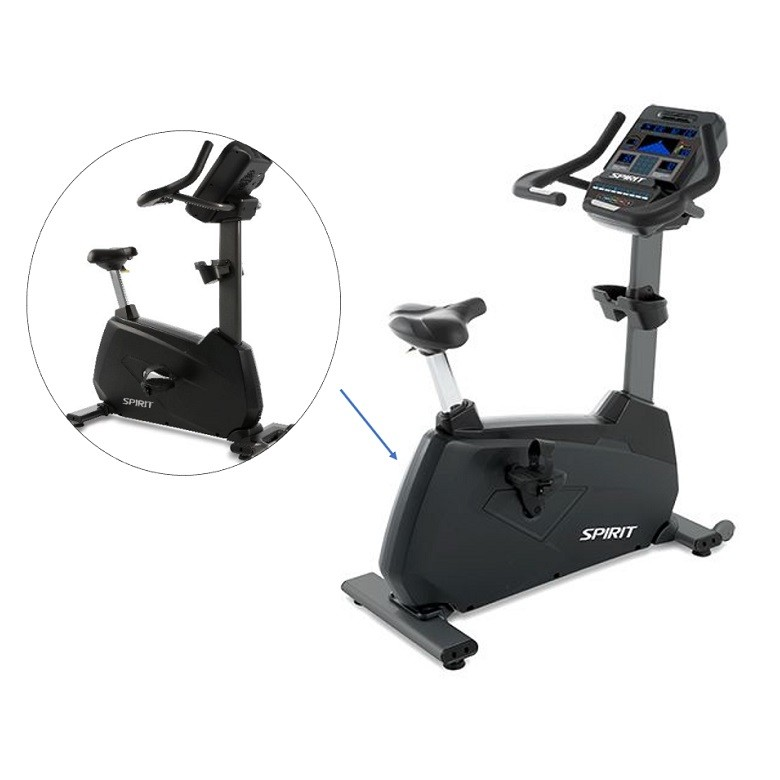 Velo d'appartement Spirit Fitness CU900LED