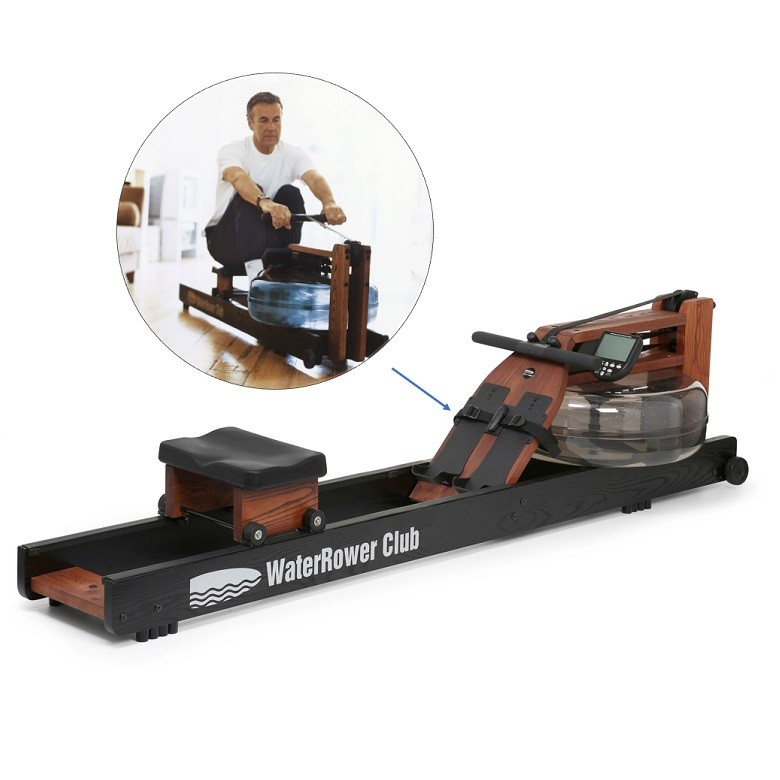Rameur connecté Com Waterrower Club Sport