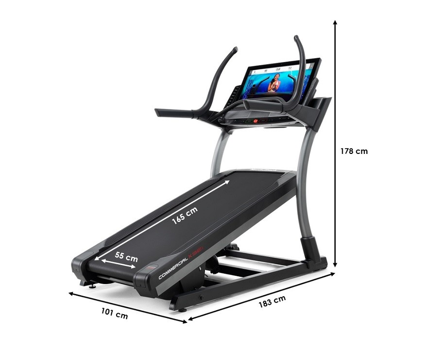 Tapis de course Nordictrack Incline Trainer X32i