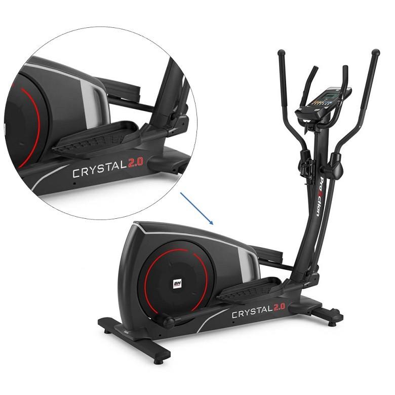 Velo elliptique BH Fitness Ergomètre i.Crystal 2.0