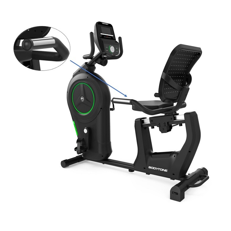 Vélo semi-allongé Bodytone ergomètre EVOR4