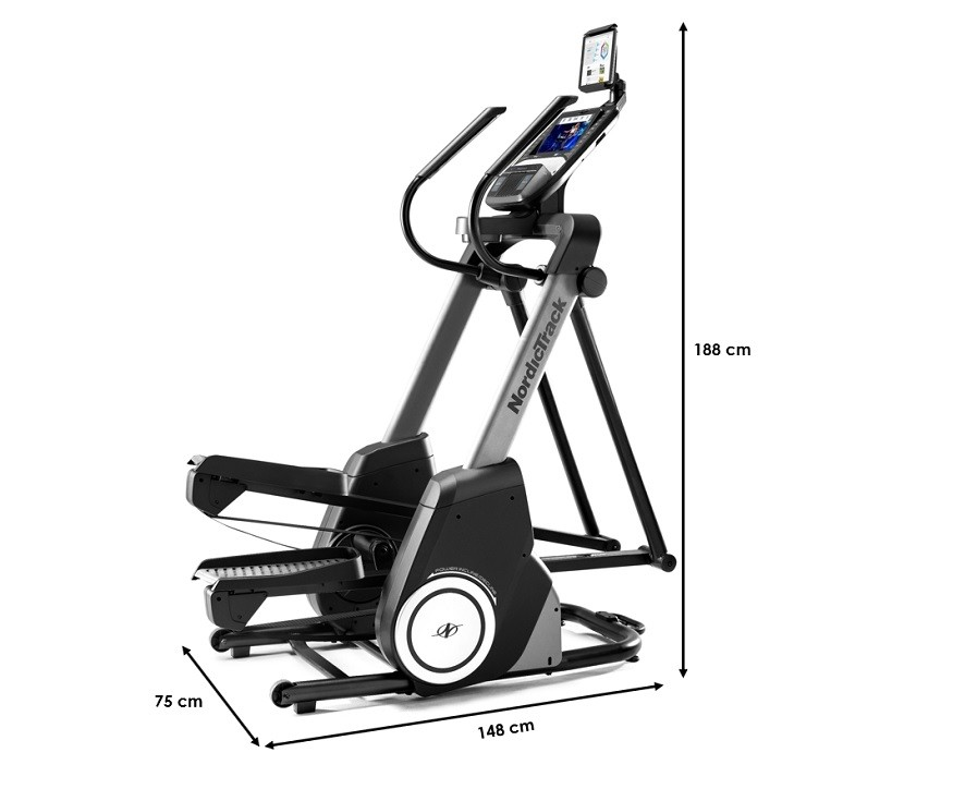 Vélo elliptique Nordictrack Free Stride Trainer FS9i